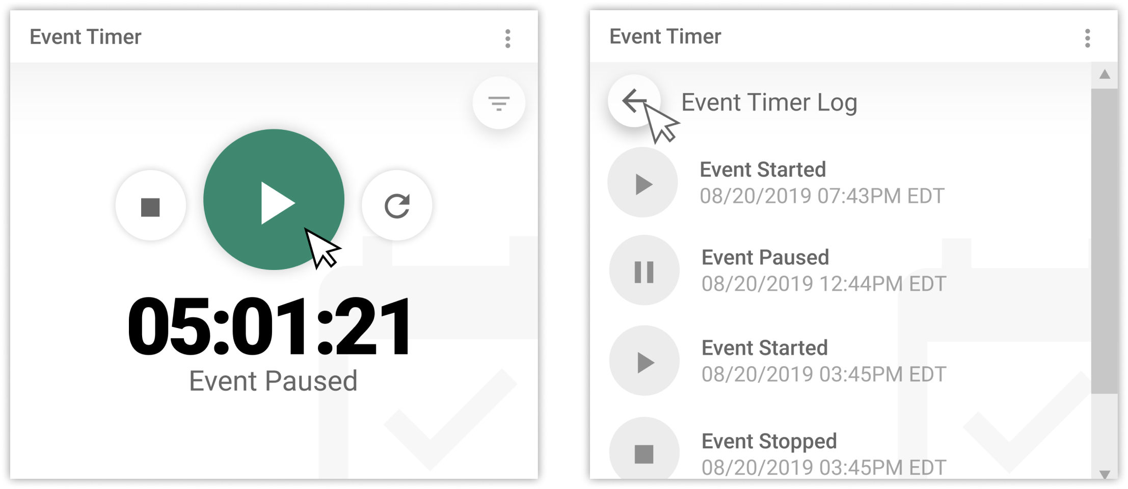 Event Timer